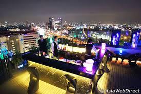 タイ・バンコクの絶景夜景ロケーションバー