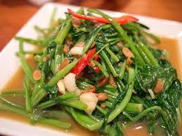 タイ料理、パックブン ファイデーン