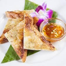 海老の揚げパン、カノム パンナー クン