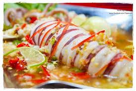 タイのイカ料理