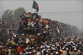 ダッカの大渋滞