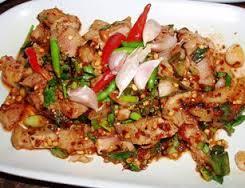 タイ料理、ナムトックムー