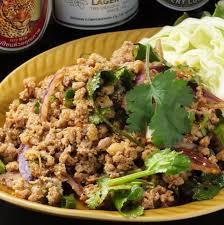 タイ料理庶民の味、カパオ ガイ ラーッ カオ