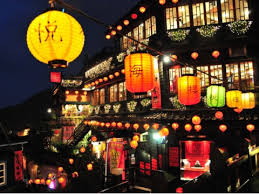 台湾の人気観光地九份