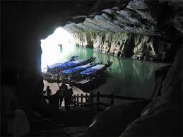 ベトナムのフォンニャ洞窟