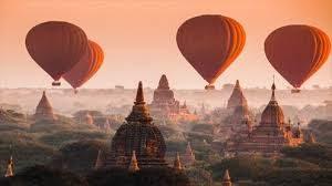 ミャンマー、バガンのパゴダ