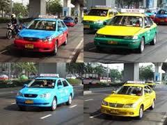 タイのタクシー