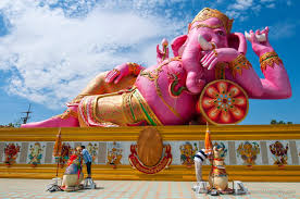タイの巨大ガネーシャ