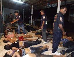 ミャンマーで発見された人身売買の被害者たち