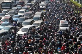 ジャカルタの交通渋滞