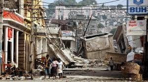 ハイチ大地震下で起こった人身売買