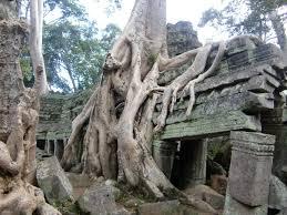 カンボジアの遺跡タプローム