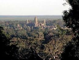 カンボジアのアンコール遺跡群