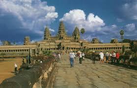 カンボジアの世界遺産アンコールワット