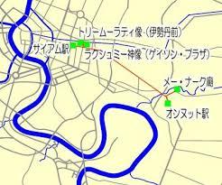 バンコク「セントラルワールドプラザ」周辺の地図