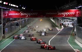 シンガポールでF1観戦