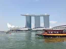 シンガポールの人気観光スポット、リバークルーズ