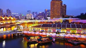 シンガポールの人気観光地クラークキー