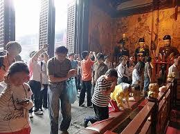 上海のパワースポットは商売繁盛第一