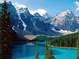 バンフ(カナダ) の美しい景色