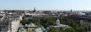 フィンランドの首都ヘルシンキの街