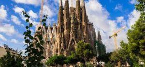 世界三位の観光地スペインのバルセロナ