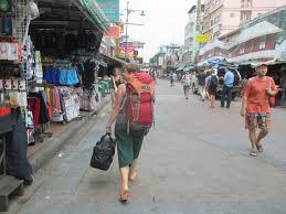 バンコクを観光する際には是非バックパッカースタイルで