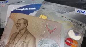 タイではクレジットカード使えますよ