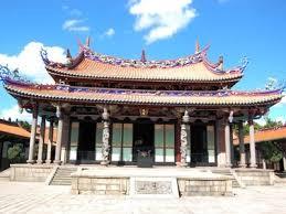 台湾の人気観光スポット孔子廟