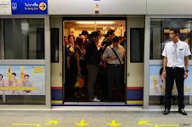MRTは二重扉だよ