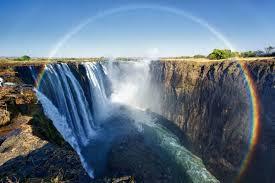 アフリカにある世界三大滝に一つビクトリアの滝