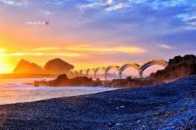台東の三仙台、人気の観光スポット