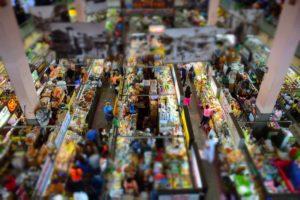チェンマイのワロロット市場