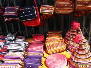 チェンマイにある山岳民族の市場