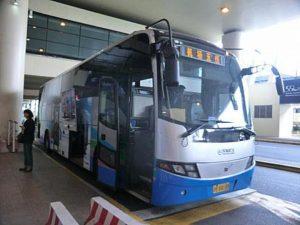 上海のエアポートバス
