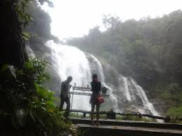 チェンマイで滝に癒される