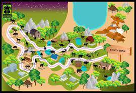 チェンマイ・ナイト・サファリの地図