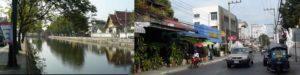 チェンマイの旧市街
