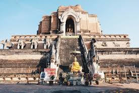チェンマイ旧市街にある有名な寺院