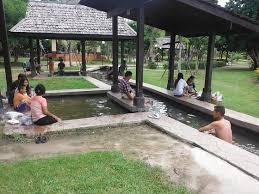 チェンマイ・サンカムペーンの温泉