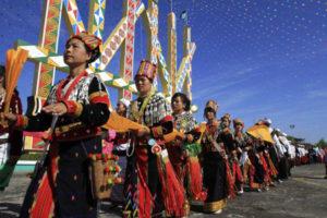 カチン州、少数民族のお祭り