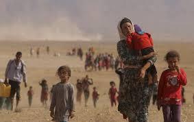 イスラム国に迫害されるヤジディ教徒の人々