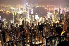 香港の夜景 (世界三大夜景)