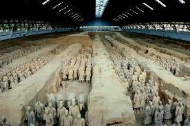 中国の始皇帝陵