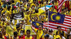 マレーシアで巻き起こるデモ
