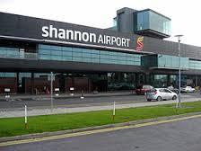 アイルランドのシャノン空港