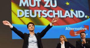 極右政党「ドイツのための選択肢」