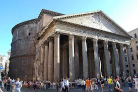 イタリア、ローマのパンテオン