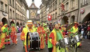 スイス、バーゼルのカーニバル