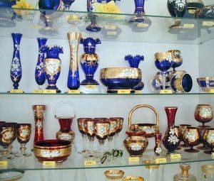 チェコのお土産にはボヘミアングラスを